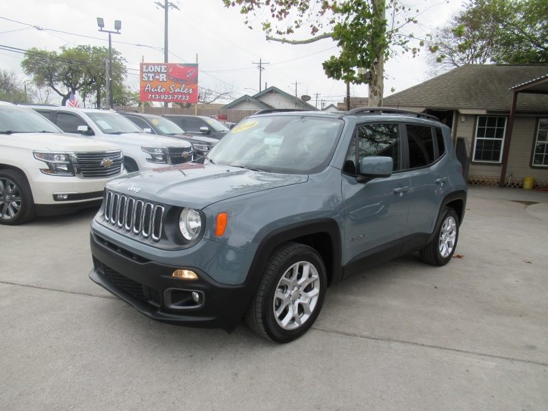 Jeep Renegade 2018 price $2,995