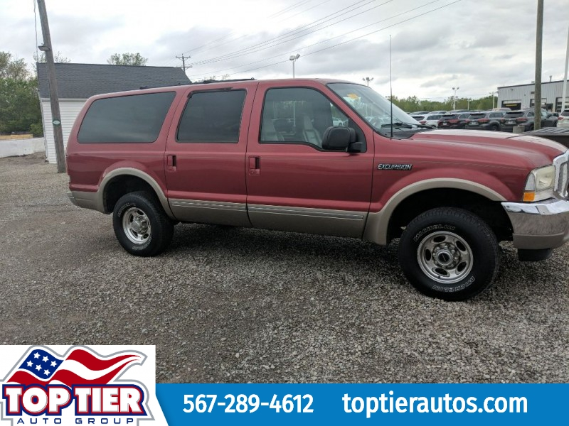 FORD EXCURSION 2002 price $6,799