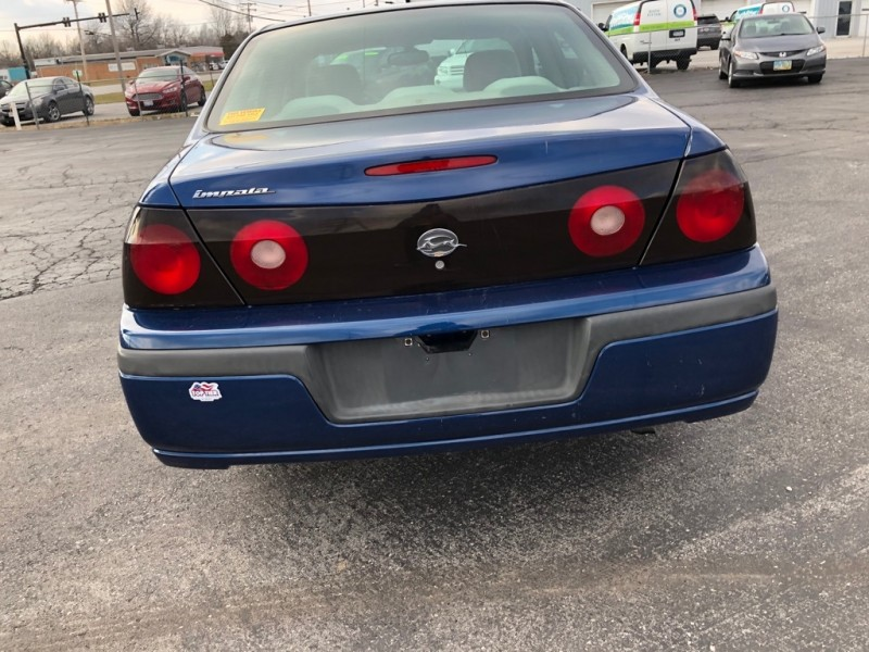 CHEVROLET IMPALA 2002 price Call for Pricing.