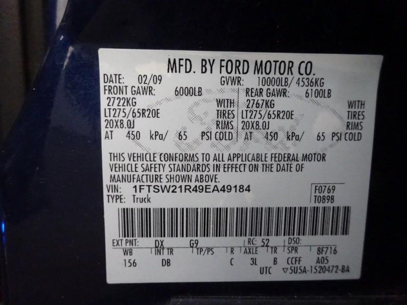 Ford Super Duty F-250 SRW 2009 price $21,950