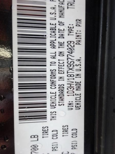 Dodge Ram 1500 2009 price $14,900