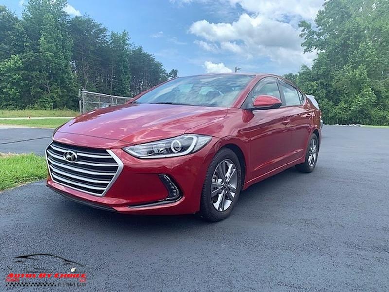 Hyundai Elantra 2018 price $12,500
