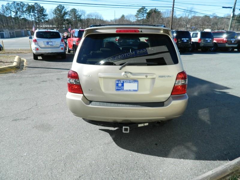Toyota Highlander 2006 price $7,495