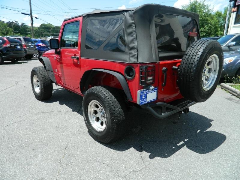 Jeep Wrangler 2007 price $11,995