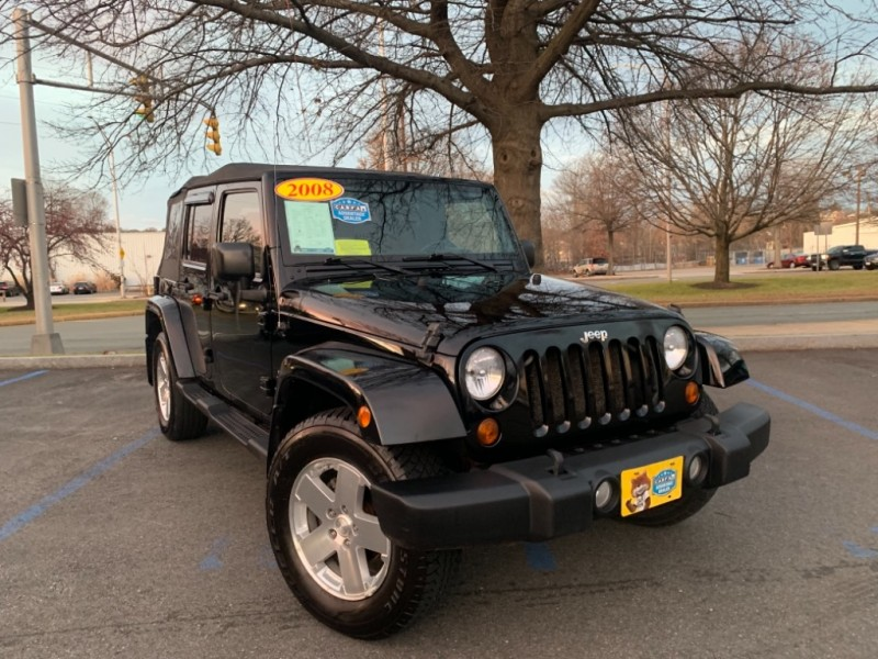 Malden Auto Brokers >> 2008 Jeep Wrangler 4WD 4dr Unlimited Sahara - Inventory ...