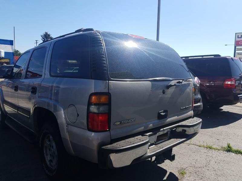 Chevrolet Tahoe 2004 price $4,500