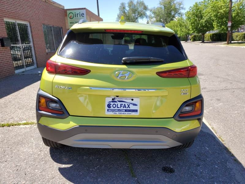 Hyundai Kona 2019 price $15,999