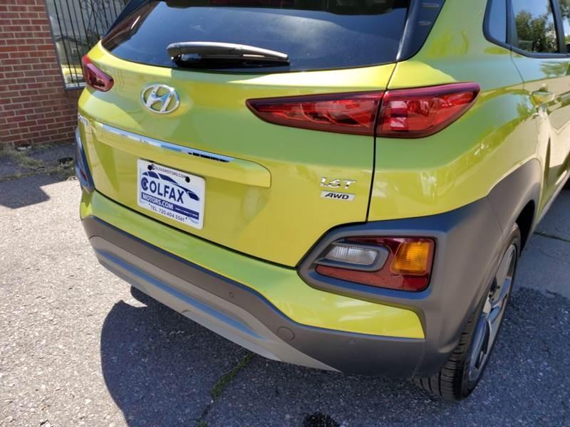 Hyundai Kona 2019 price $19,999