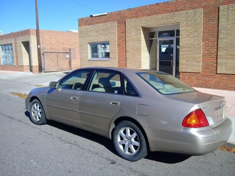 Toyota Avalon 2001 price $2,700