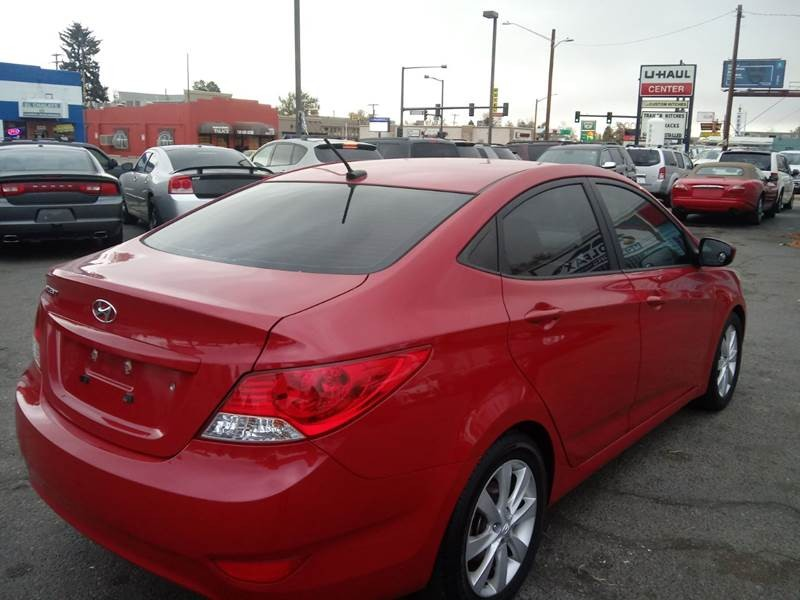 Hyundai Accent 2012 price $6,300