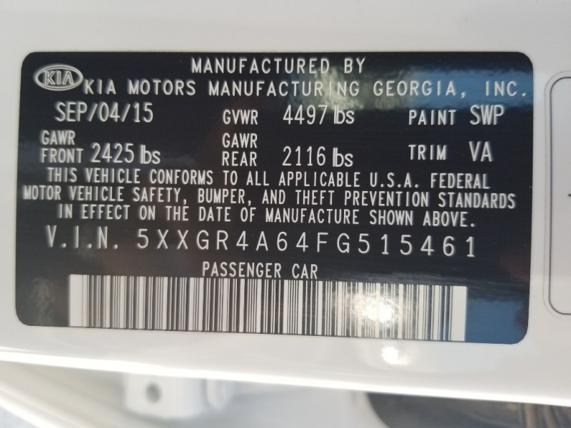 Kia Optima 2015 price $22,995