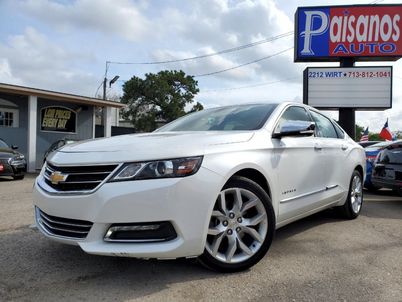 Chevrolet Impala 2018 price Call for Pricing