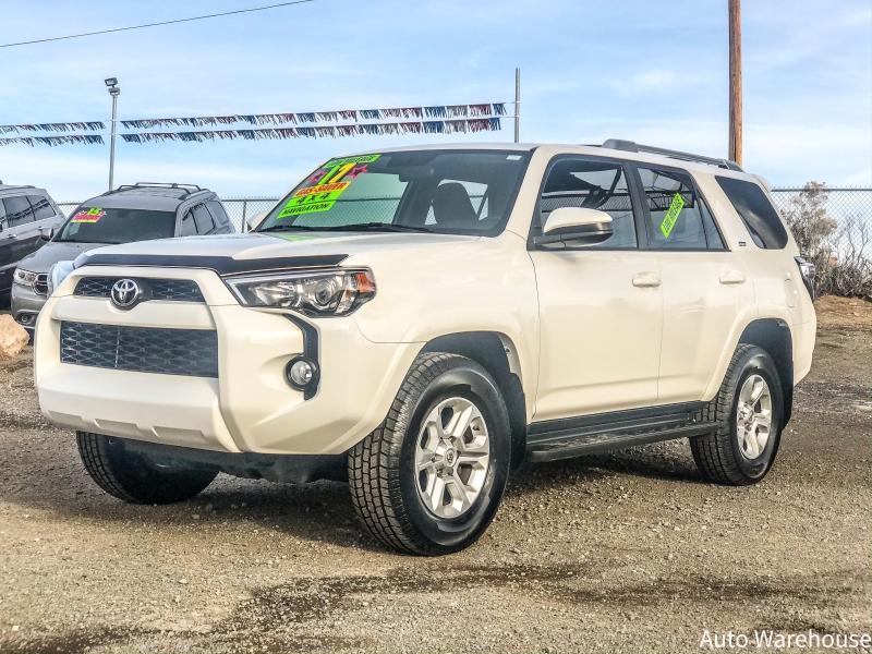Toyota 4Runner 2017 price $31,500