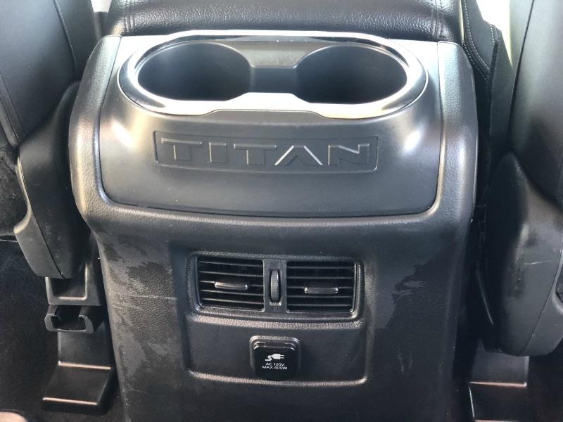 Nissan Titan 2018 price $34,995
