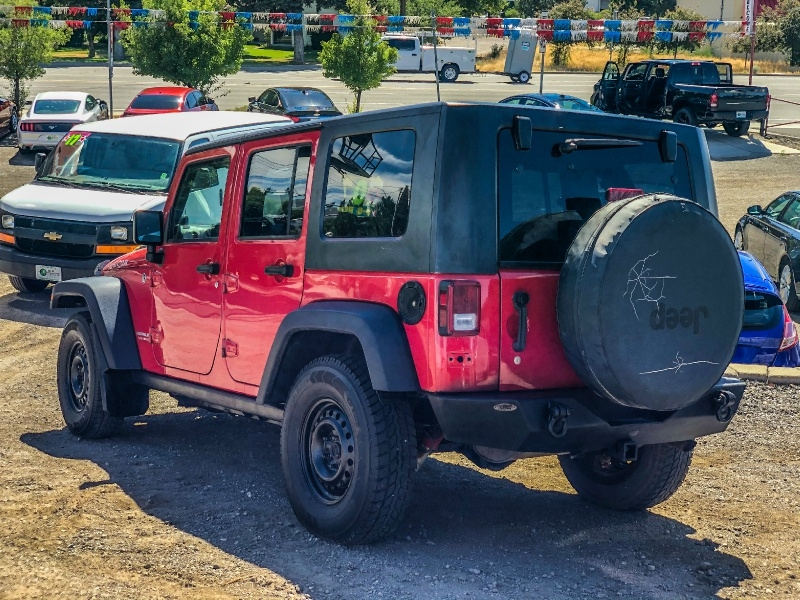 Jeep Wrangler 2007 price $18,995