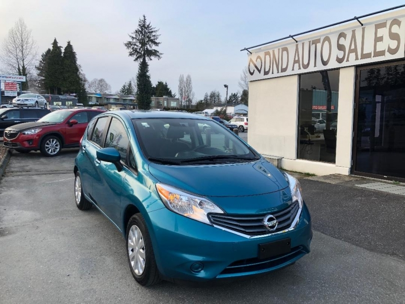 Nissan Versa Note 2016 price $10,888