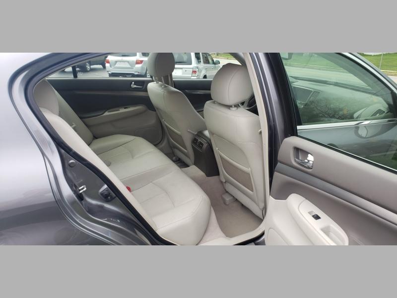 Infiniti G37 Sedan 2012 price $8,900