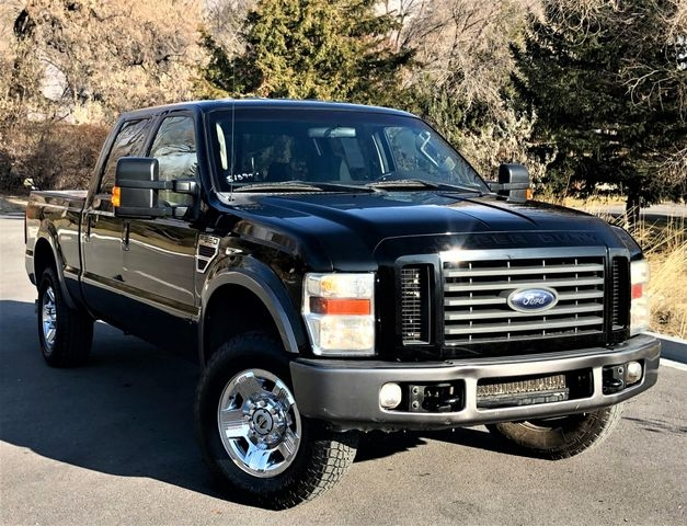 F250 Super Cab >> 2008 Ford F250 Super Duty Crew Cab Fx4 Pickup 4d 8 Ft