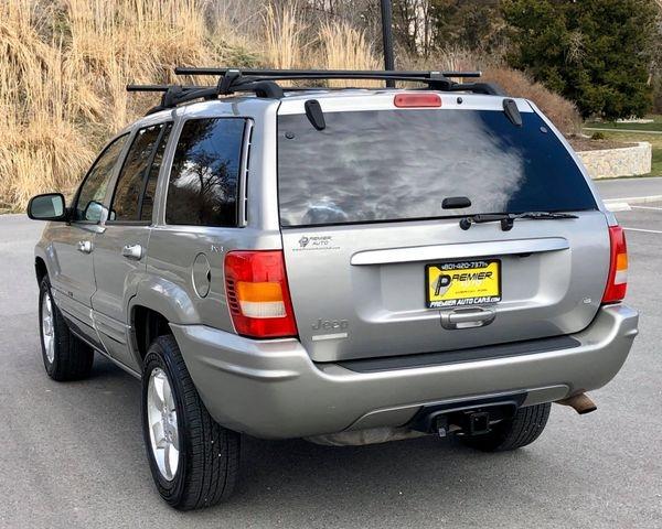 Jeep Grand Cherokee 2001 price $5,500