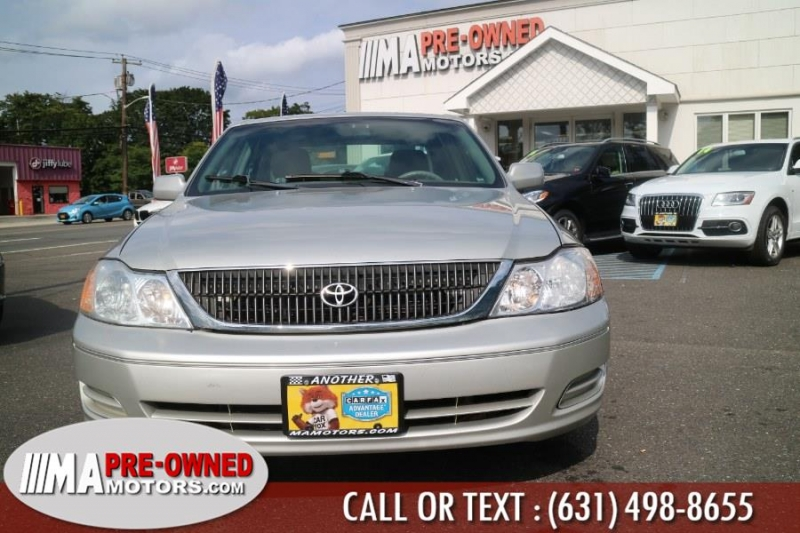 Toyota Avalon 2002 price $3,490