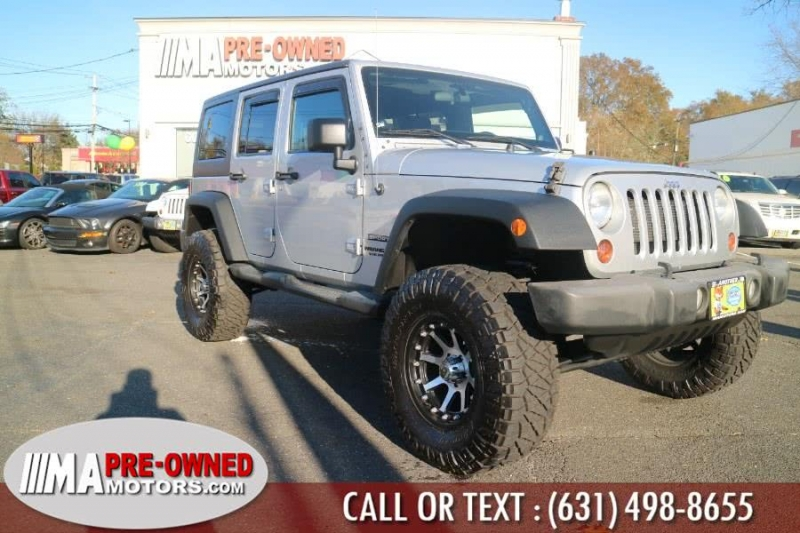 Jeep Wrangler Unlimited 2012 price $19,995
