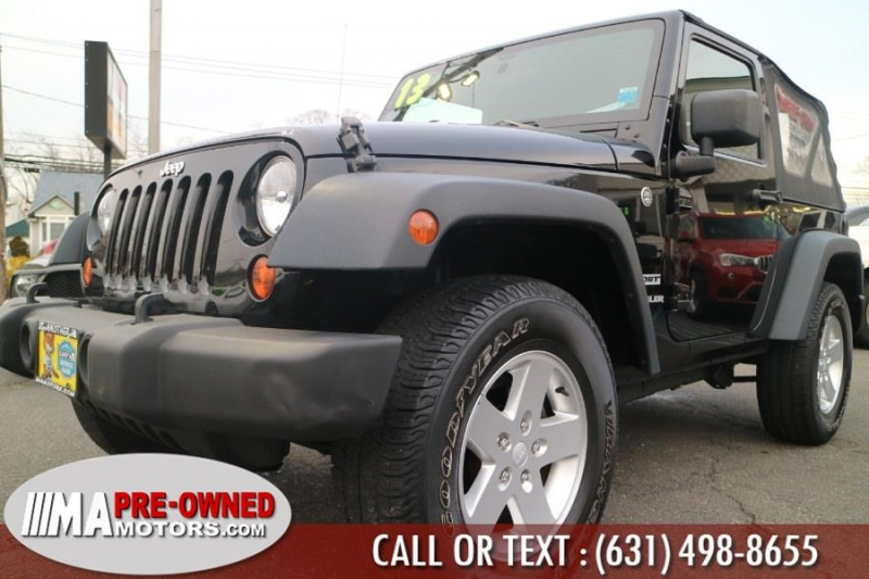 Jeep Wrangler 2013 price $17,990