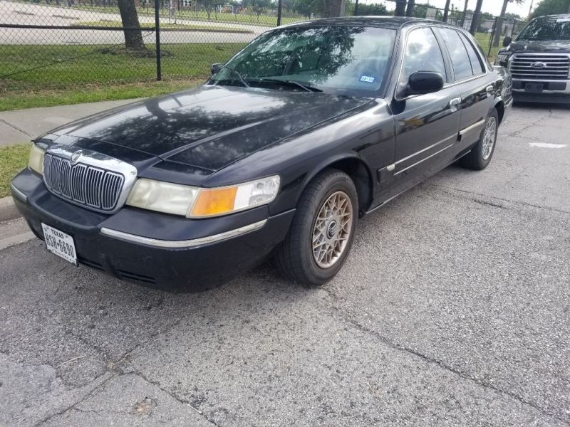 Mercury Grand Marquis 1999 price $1,000 Cash
