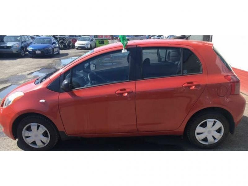 Toyota Yaris 2008 price $5,600