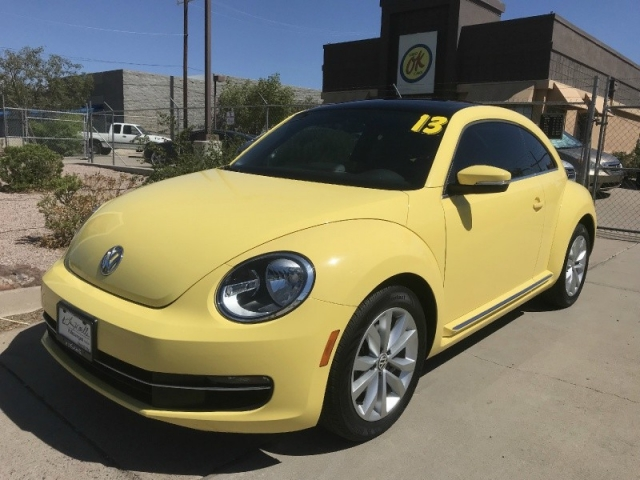 2013 Volkswagen Beetle Tdi Turbo Diesel 16k Miles 1