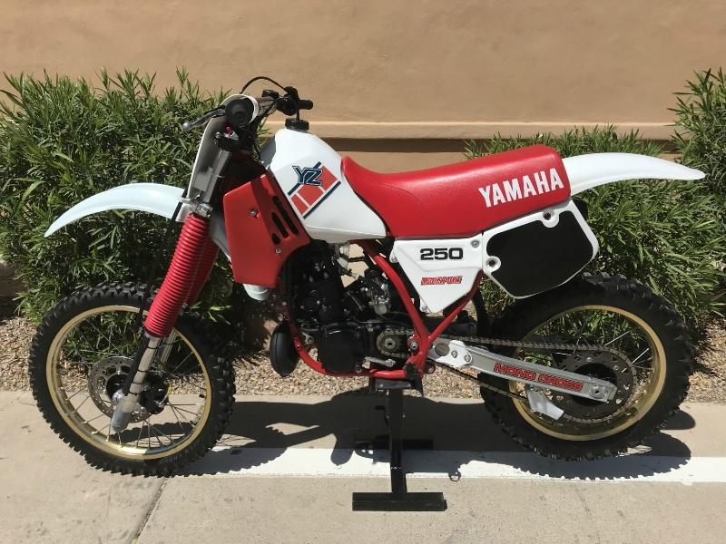 Yamaha YZ250 1985 price $3,500
