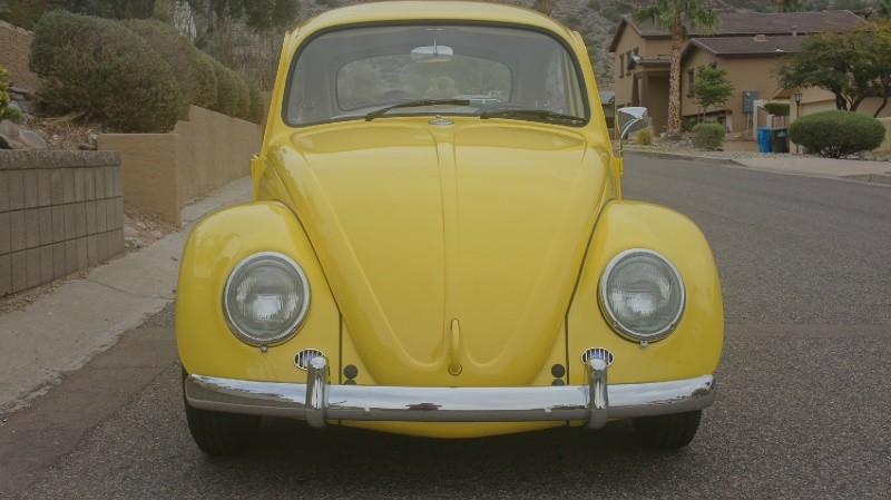 1965 Vw Beetle Fresh Restoration 1688cc Yellow Roof