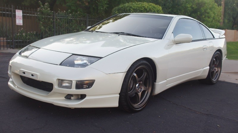 1990 Nissan 300zx Twin Turbo 5 Spd Leather T Tops Pearl White