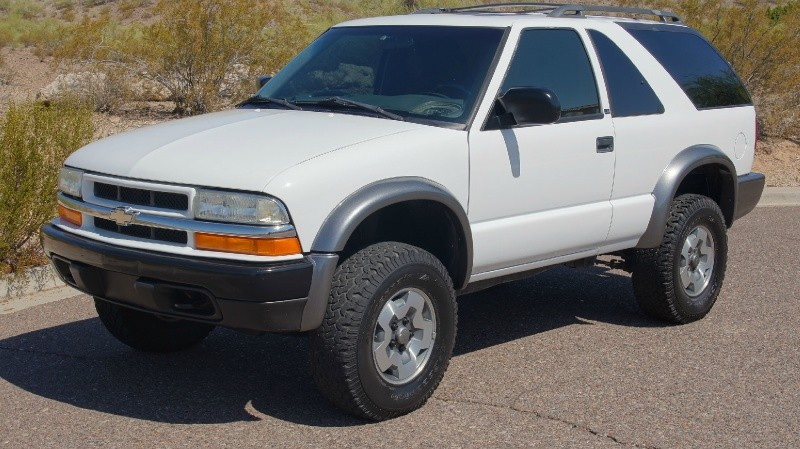 2001 chevrolet blazer 4wd zr2 super clean no accidents auto additional photos sciox Images