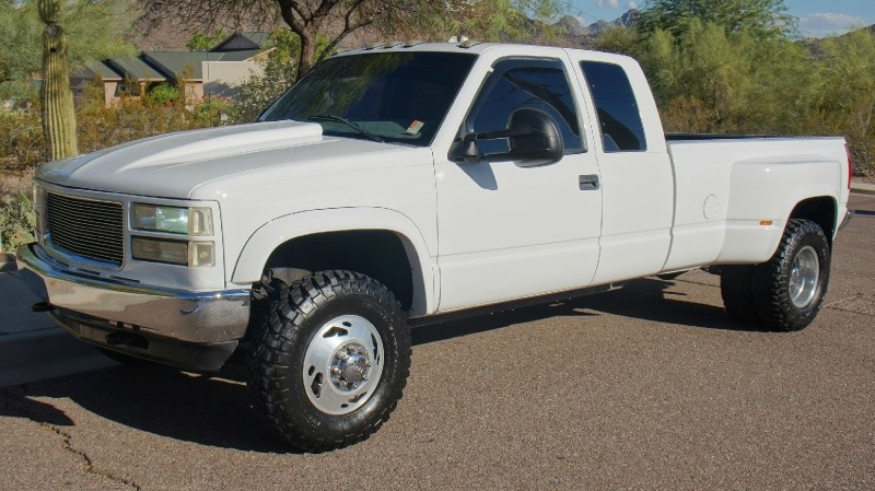 Amp Used Car Dealership >> 1998 GMC Sierra 3500 Dually Ext Cab 4X4, 454 V8, Sweet Customized Truck - Auto Obsession LLC ...