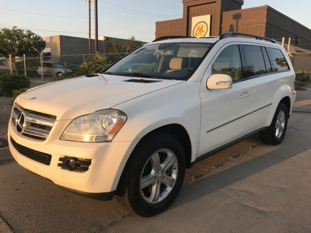 2007 mercedes gl320cdi 4matic suv turbo diesel 1 owner for Mercedes benz dealers in phoenix