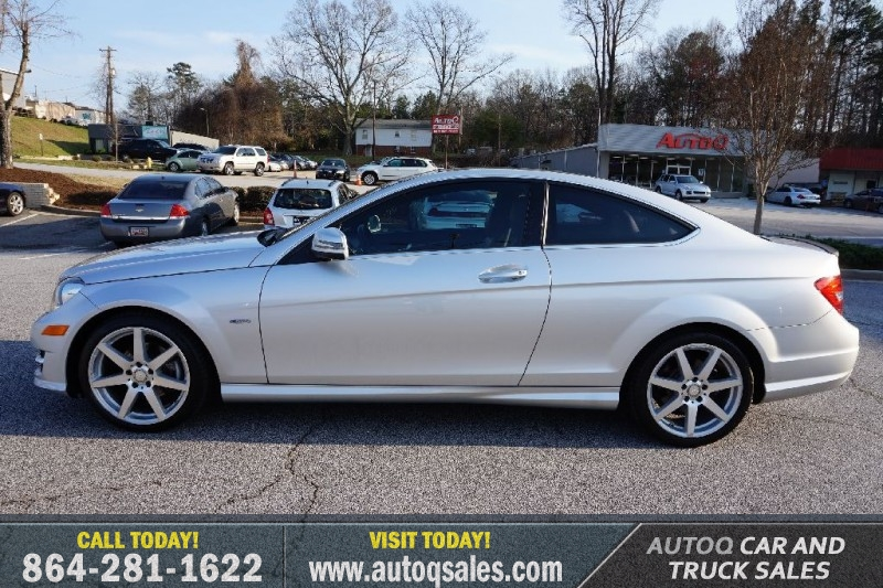 2012 Mercedes Benz C Class C250 Coupe W Sport Package