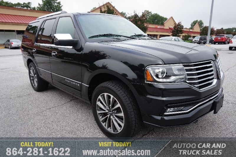 Lincoln Truck 2015 >> 2015 Lincoln Navigator 4wd 1 Owner Autoq Car Truck Sales
