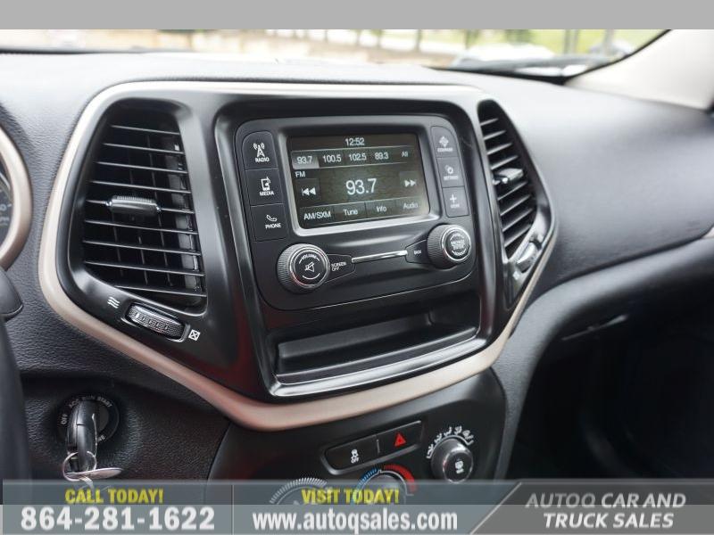 Jeep Cherokee 2018 price $16,991