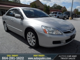 Honda Accord Sedan EX-L V6 2007