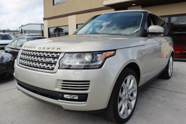 Land Rover Range Rover Supercharged-Clean CarFax Texas Born 2014 price $46,850