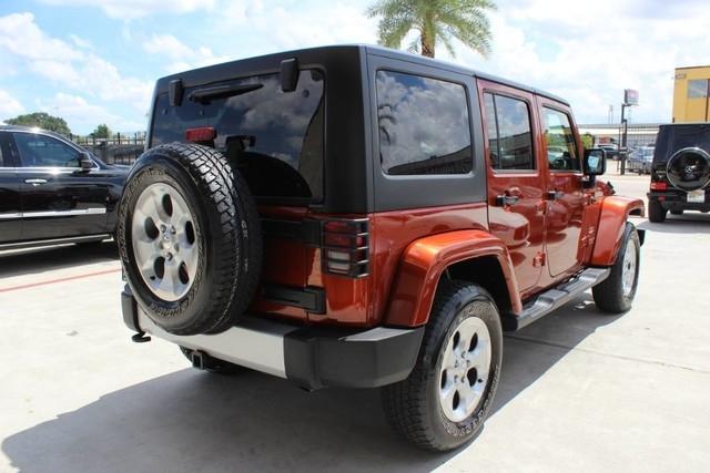 Jeep WRANGLER UNLIMITED Sahara,HARD TOP,MANUAL SHIFT,DU 2014 price $28,850