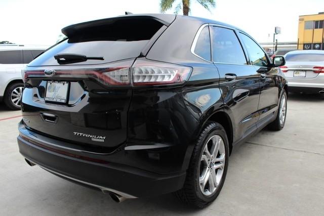 Ford EDGE Titanium CLEAN CARFAX TEXAS BORN! 2015 price $17,850