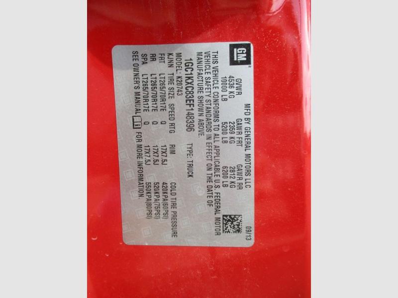 CHEVROLET SILVERADO 2500 2014 price $29,950