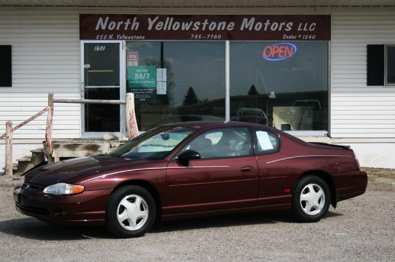 Chevrolet Monte Carlo 2001 price $3,999