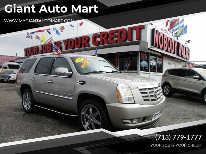 Giant Auto Mart >> 2007 Cadillac Escalade Base Awd 4dr Suv