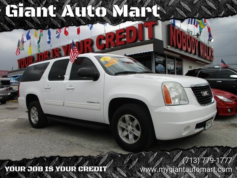 Giant Auto Mart >> 2011 Gmc Yukon Xl Slt 1500 4x4 4dr Suv