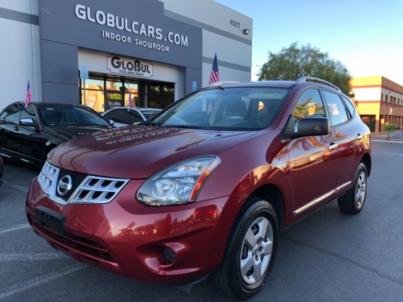 Nissan Rogue Select >> 2014 Nissan Rogue Select Fwd 4dr S