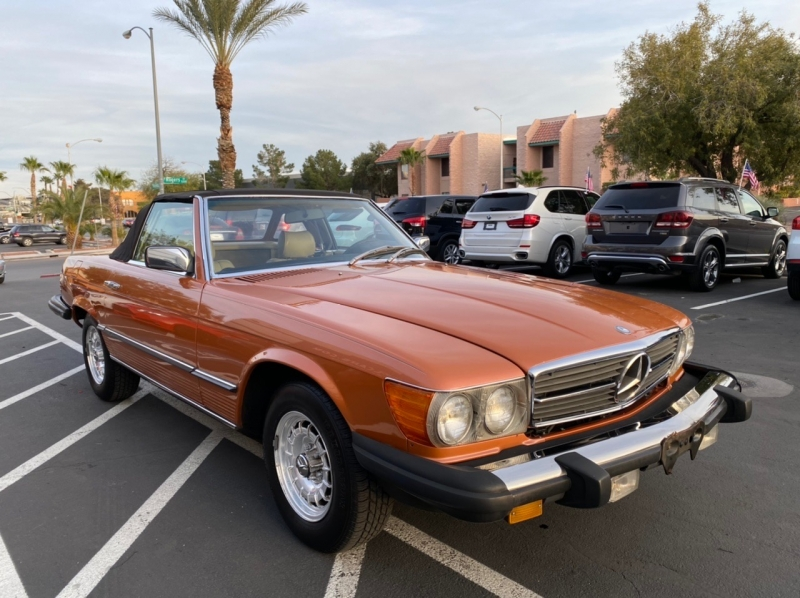 Mercedes-Benz SL 450 1980 price $9,900
