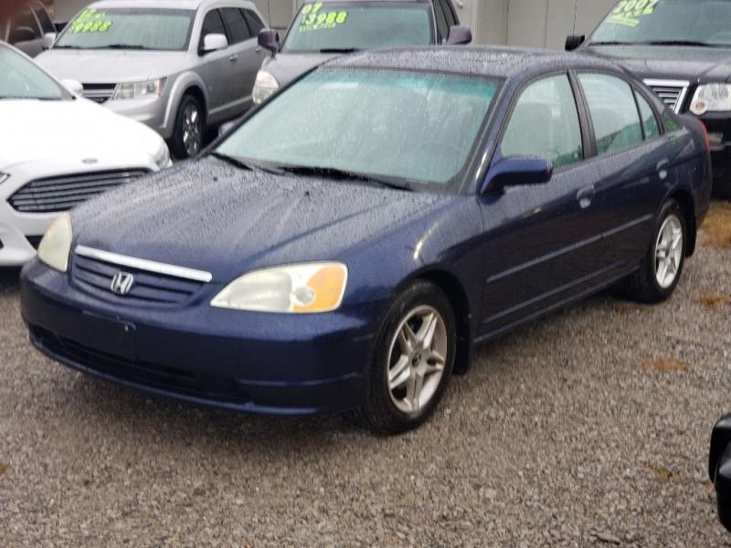 HONDA CIVIC 2002 price $3,988