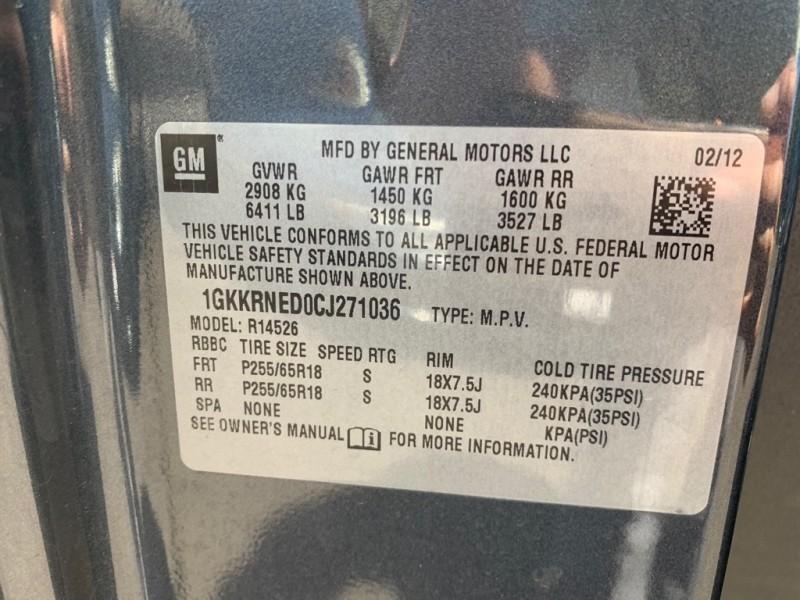GMC ACADIA 2012 price $9,000